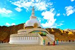 Full Day Sightseeing Tour(shanti Stupa & Leh Palace)