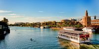 Seville City Tour And Guadalquivir Cruise,seville, Spain